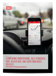 Comparing Smartphone, Self-Powered, OBD, Black Box, and OEM Embedded Devices