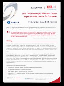 Zurich – Claims Telematics Case Study