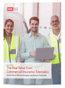 The Real Value From Commercial Insurance Telematics