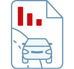 Distracted driving detection reporting